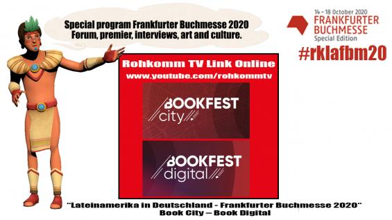 RohKomm festeja a Latinoamérica en el Bookfest de la Feria del Libro de Frankfurt