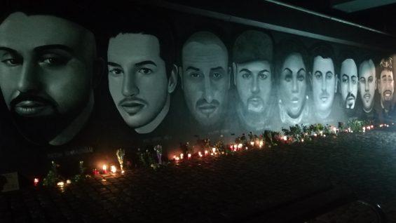 A un año -Atentado racista de Hanau