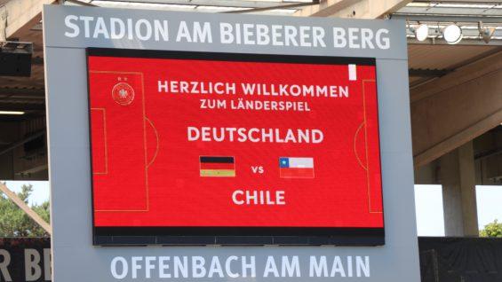 Históricas del Futbol Femenino de Alemania y Chile se enfrentaron en Offenbach.