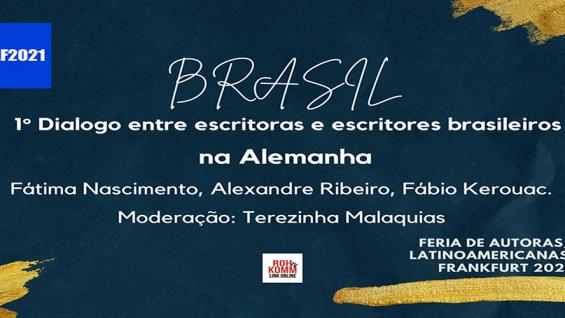 Brasil – 1° Diálogo das Escritoras e Escritores Brasileires na Alemanha – #FALF2021